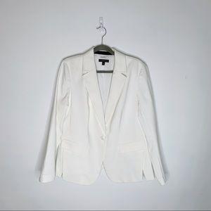 Lane Bryant Creamy White Blazer